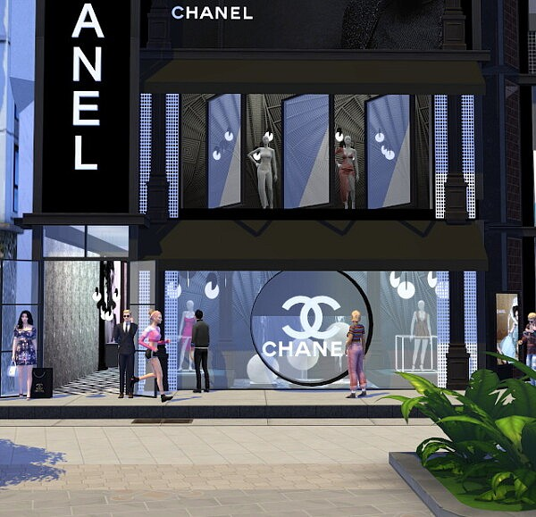 Dress Store from Liily Sims Desing