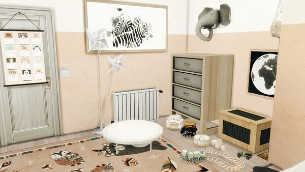 Kidsroom from Models Sims 4