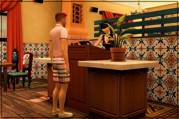 The Lone Cactus Restaurant from Strenee sims