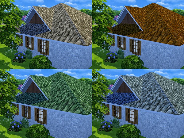 Modest Roof by matomibotaki from TSR