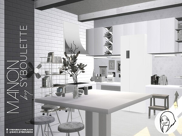 Manon Kitchen set Part 2: appliances by Syboubou from TSR