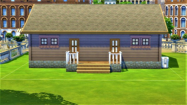 River Bend House by SweetSimmerHomes from Mod The Sims