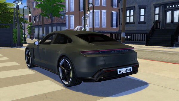 2020 Porsche Taycan Turbo S from Modern Crafter