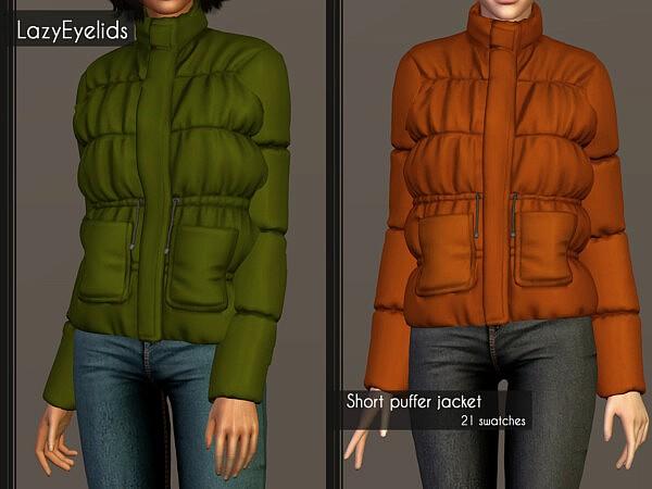Puffer Jacket from Lazyeyelids