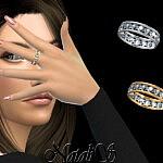 18 gems eternity rings sims 4 cc