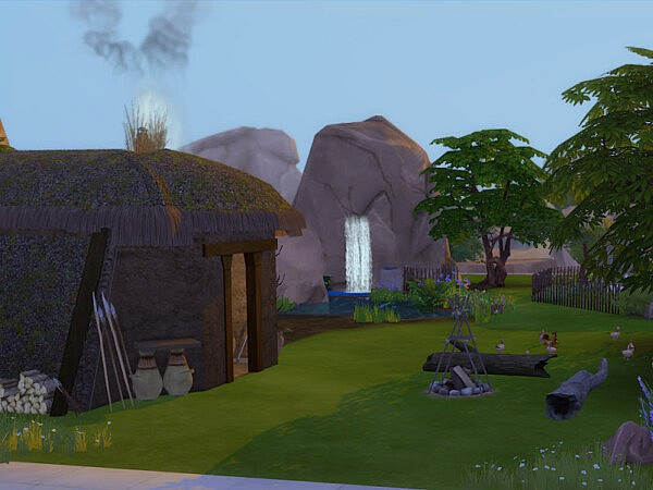 Sheeps Roost from KyriaTs Sims 4 World