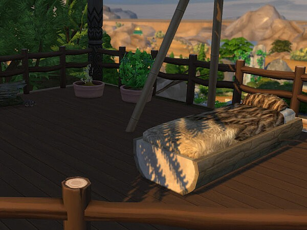 The Sorcerers Nest from KyriaTs Sims 4 World