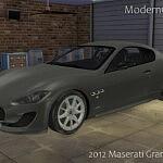 2012 Maserati GranTurismo Sport sims 4 cc