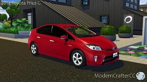 2014 Toyota Prius G sims 4 cc