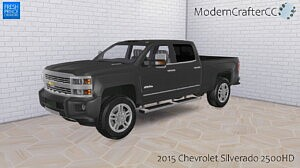 2015 Chevrolet Silverado 2500HD sims 4 cc