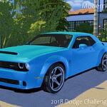 2018 Dodge Challenger SRT Demon sims 4 cc