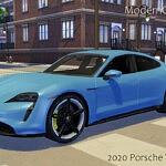 2020 Porsche Taycan Turbo S sims 4 cc