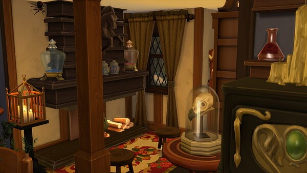 Tiny Witch Cottage by bradybrad7 from Mod The Sims