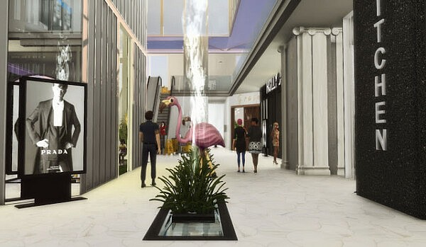 Diamond Mall from Liily Sims Desing