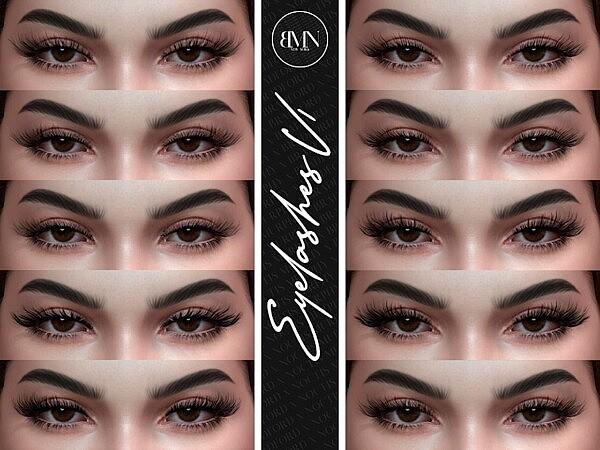 3D Eyelashes V1 by Silence Bradford from Murphy