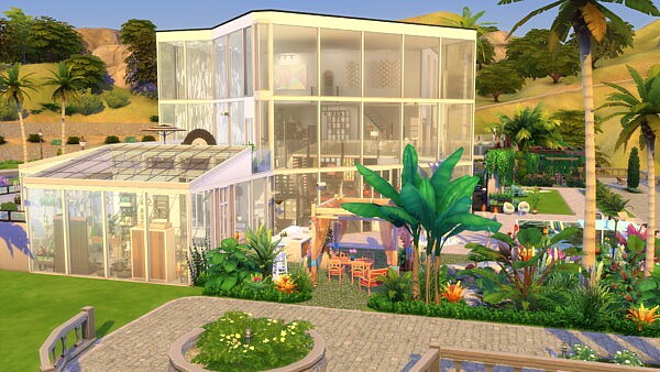 California Jewelbox Mansion by Brand from Mod The Sims