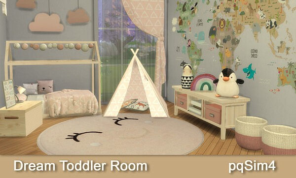 Dream Toddler Room from PQSims4