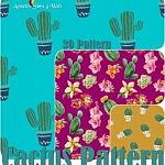 30 Cactus Pattern sims 4cc