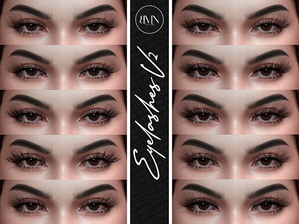 3D Eyelashes V2  by Silence Bradford from Murphy
