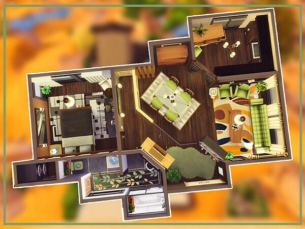 Mid Century House by simmer adelaina from TSR