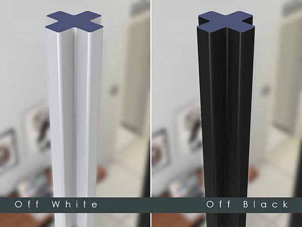 X Shaped Deco Column by TyrAVB from TSR