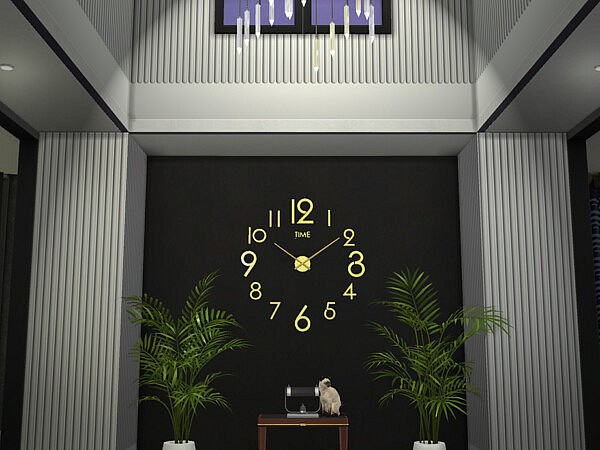 3D Wall Clock by TyrAVB from TSR