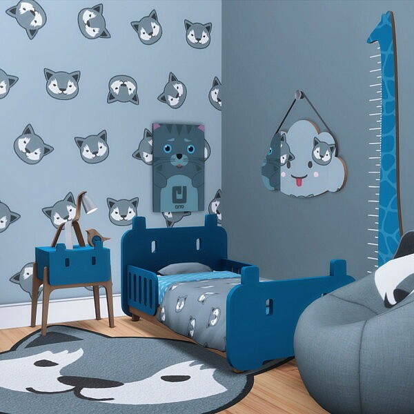 Roarsome Walls from Simsational designs