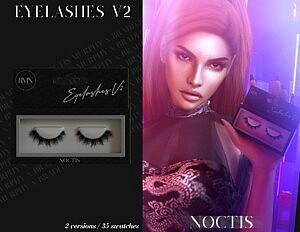 3D Eyelashes V2 sims 4 cc