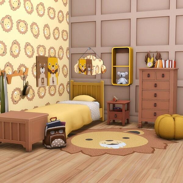 Elsie Bedroom Basics from Simsational designs