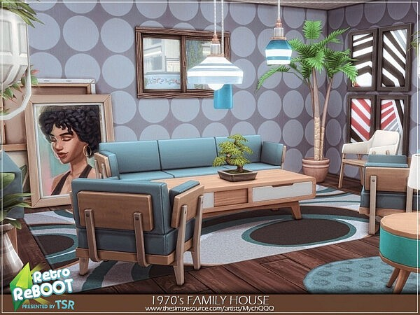 1970s Family House by MychQQQ from TSR