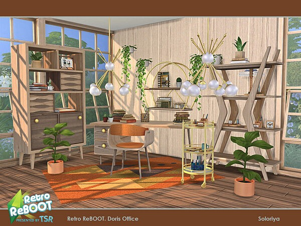 Doris Office by soloriya from TSR