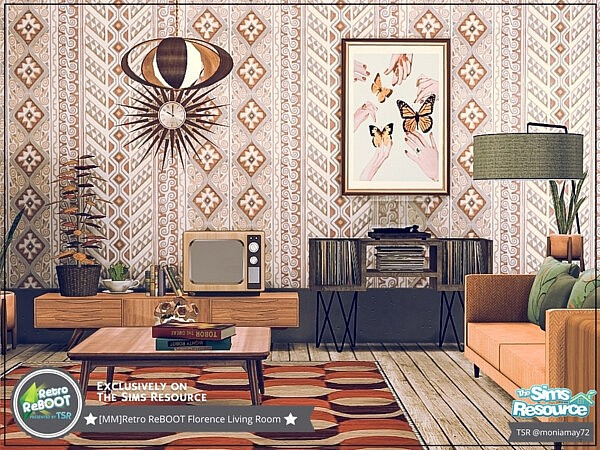 Florence Living Room by Moniamay72 from TSR