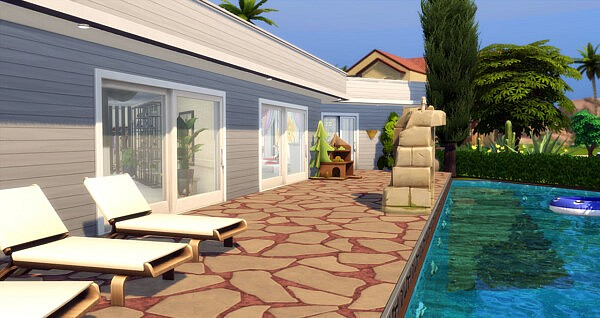 Blanche House by Reverlautre from Luniversims