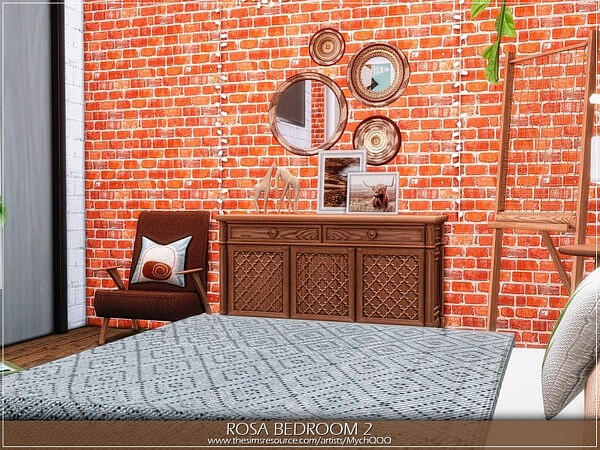 Rosa Bedroom 2 by MychQQQ from TSR