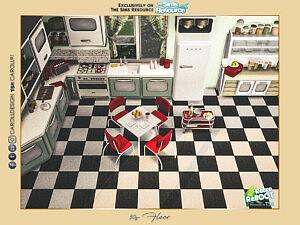 50s Floor sims 4 cc