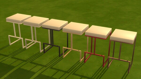 Chairs and Stools for Bunk Bed Update by littledica from Mod The Sims