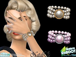 60s pearl bracelet sims 4 cc