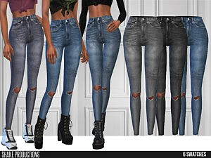 641 Jeans sims 4 cc