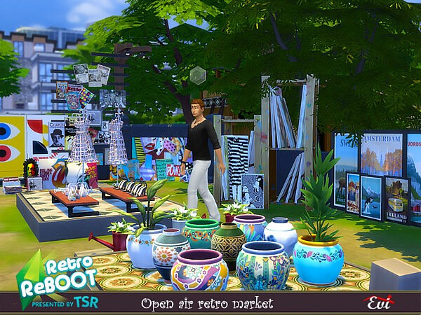 Open Air market by evi from TSR
