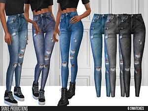 643 Jeans sims 4 cc