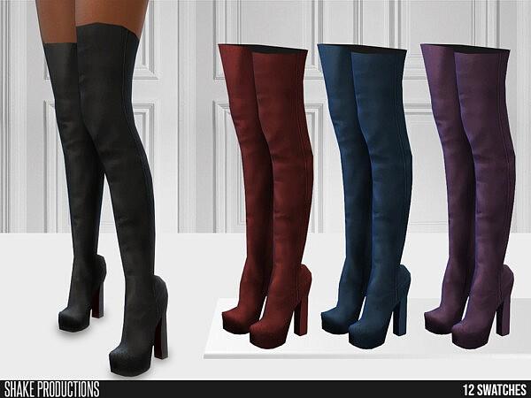 655 High Heel Boots sims 4 cc