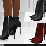 659High Heel Boots sims 4 cc