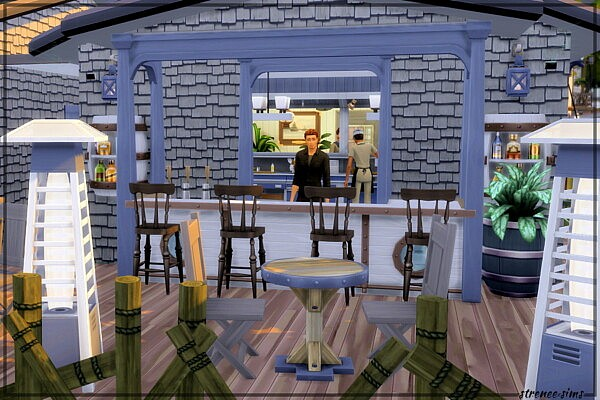 Fish Food Restautant from Strenee sims