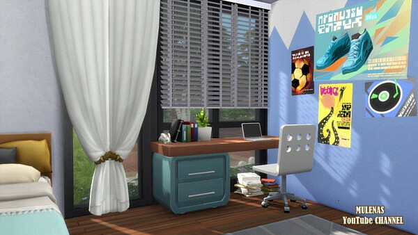 Dream House from Sims 3 by Mulena