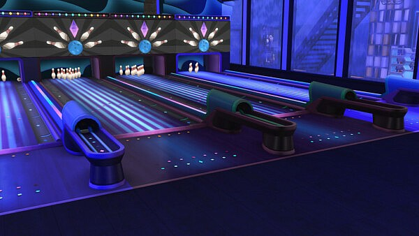 Bowling club redesign Dust Bowling in Oasis Springs from Ihelen Sims