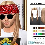 80s Male Hairstyles sims 4 cc