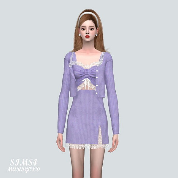 9A Lace 3 Piece from SIMS4 Marigold