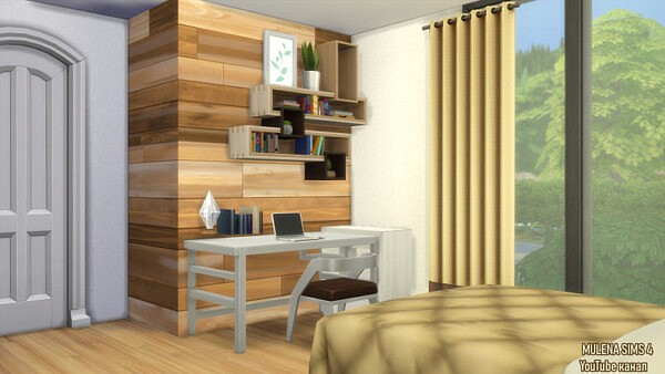 Modern house from Sims 3 by Mulena