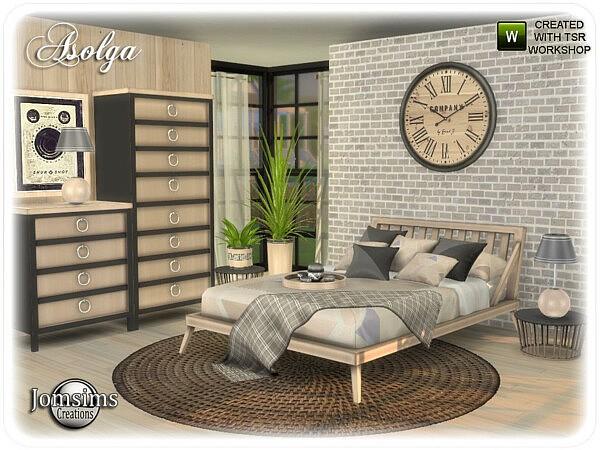 Asolga bedroom by jomsims from TSR