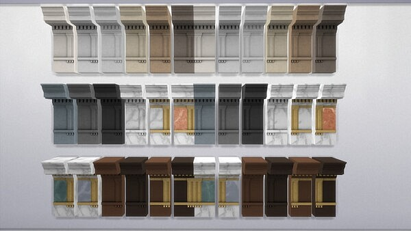 Doric Entablature by TheJim07 from Mod The Sims
